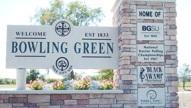Bowling Green Welcome Sign