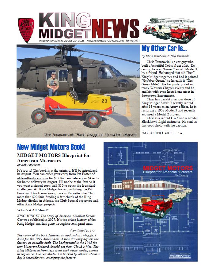 Spring 2021 Newsletter Cover